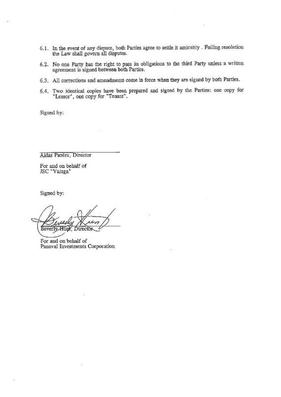 15min nuotr./Motelio nuomos sutartis, 2 puslapis