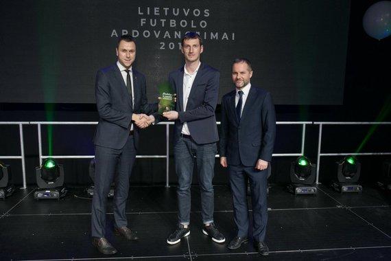 LFF nuotr./E.Stankevičius (pirmas iš kairės) šventės metu