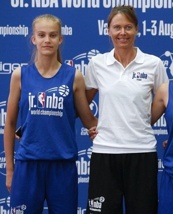 jrnbawc.nba.com nuotr./Justė Jocytė ir Lina Brazdeikytė