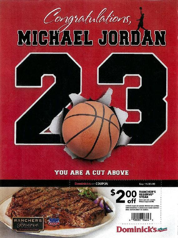 Michaelas Jordanas ir mėsos reklama