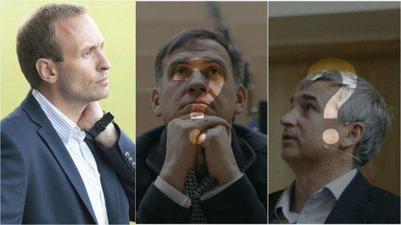 Caritas Falchas, Vytautas Vaškūnas ir Svajūnas Česnulis