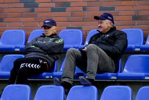 V.Knyzelio/LFF nuotr./Stasys Stankus ir Vitalijus Stankevičius