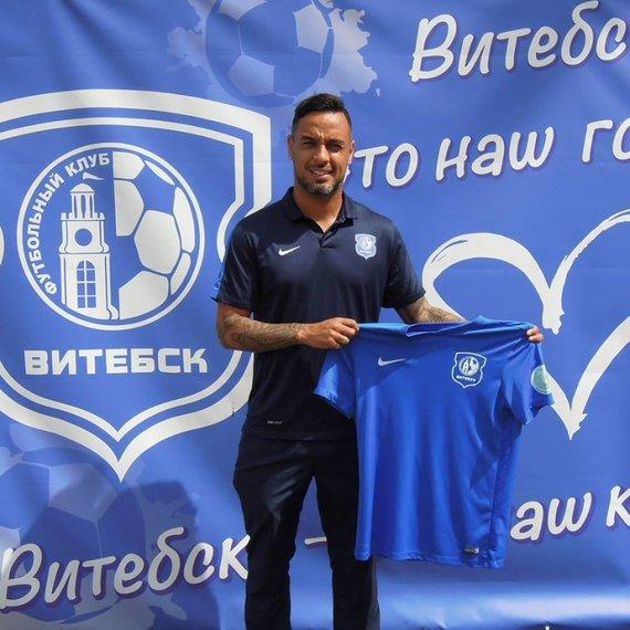 """""""Vitebsk"""" nuotr./Rafaelis Ledesma praėjusį sezoną žaidė Baltarusijoje."""