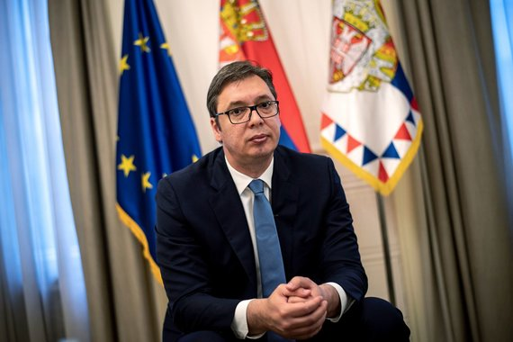 "AFP/""Scanpix"" nuotr./Aleksandaras Vučičius"