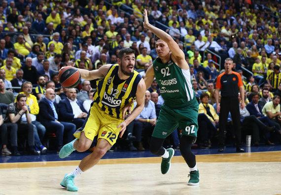 "nuotr. ""Getty Images""/euroleague.net/Stambulo ""Fenerbahče"" – Kauno ""Žalgiris"""
