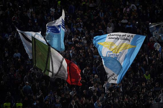 """Reuters""/""Scanpix"" nuotr./Romos ""Lazio"" sirgaliai"