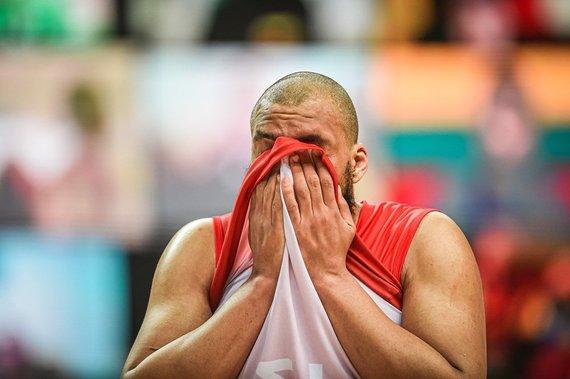 nuotr. FIBA/Danijos krepšininkai itin nusivylę po pralaimėjimo