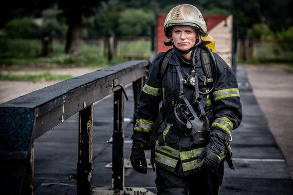 Vidmanto Balkūno / 15min nuotr./Lina Lelevičiūtė. Priešgaisrinė gelbėjimo tarnyba.