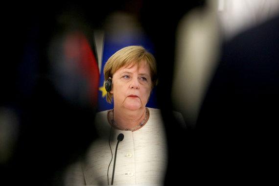 Vidmanto Balkūno / 15min nuotr./Angela Merkel