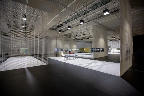 "Vidmanto Balkūno / 15min nuotr./ŠMC vyksta paroda ""Architektas be architektūros?"""