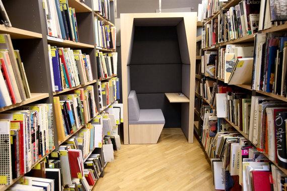 Vidmanto Balkūno / 15min nuotr./Vilniaus apskrities Adomo Mickevičiaus viešojoje bibliotekoje