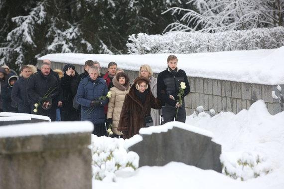 Vidmanto Balkūno / 15min nuotr./S.Karoso laidotuvės