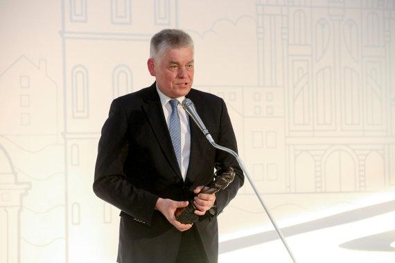 Vidmanto Balkūno / 15min nuotr./Lietuvos irklavimo federacijos prezidentas Dainius Pavilionis