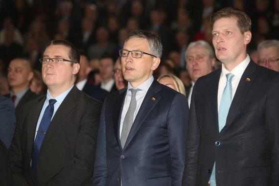 Vidmanto Balkūno / 15min nuotr./Skirmantas Malinauskas, Vytautas Bakas, Kęstutis Mažeika