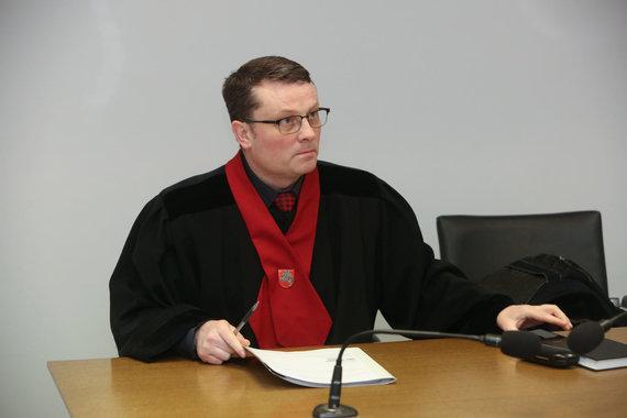 Vidmanto Balkūno / 15min nuotr./Dainiaus Dzindzalietos teismo posėdis