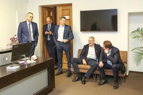Vidmanto Balkūno / 15min nuotr./Advokatų tarybos posėdis