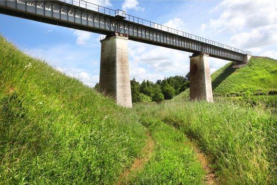 Vidmanto Balkūno / 15min nuotr./Kūlupėnų geležinkelio tiltas