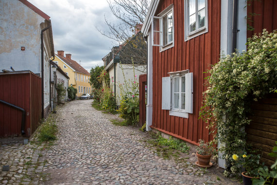 Vidmanto Balkūno / 15min nuotr./Kalmar miestelis Švedijoje