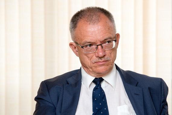 Vidmanto Balkūno / 15min nuotr./Diplomatas Petras Vaitiekūnas