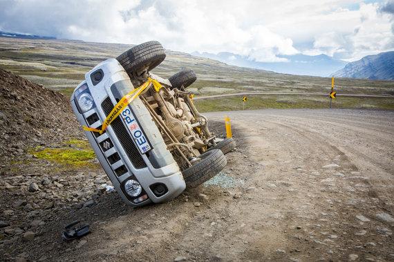 Vidmanto Balkūno / 15min nuotr./Keliautojų po Islandiją automobiliai