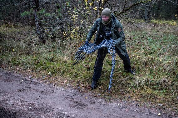 Vidmanto Balkūno / 15min nuotr./VSAT Kriminalinės žvalgybos operacijos metu