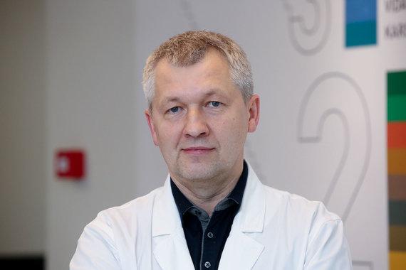 Vidmanto Balkūno / 15min nuotr./Vyriausiasis gydytojas Rimvydas Civilka