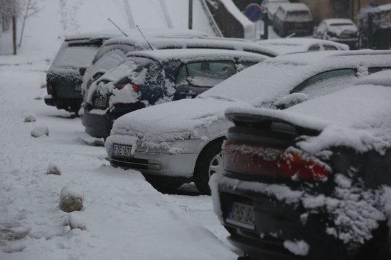 Vidmanto Balkūno / 15min nuotr./Žiema