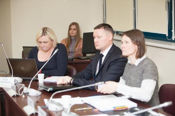 Vidmanto Balkūno / 15min nuotr./ Olga Kilkinova – kairėje