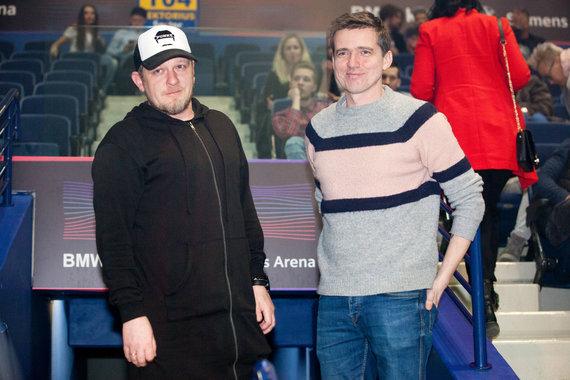 Vidmanto Balkūno / 15min nuotr./Maksas Melmanas ir Olegas Aleksejevas