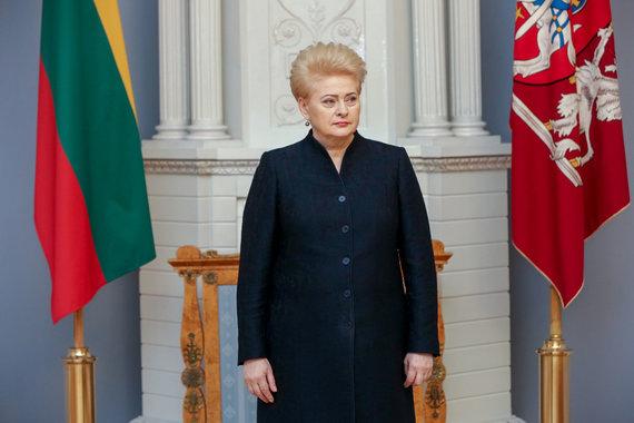 Vidmanto Balkūno / 15min nuotr./ Dalia Grybauskaitė