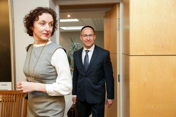 Vidmanto Balkūno / 15min nuotr./Seimo laikinosios komisijos dėl LRT veiklos posėdis