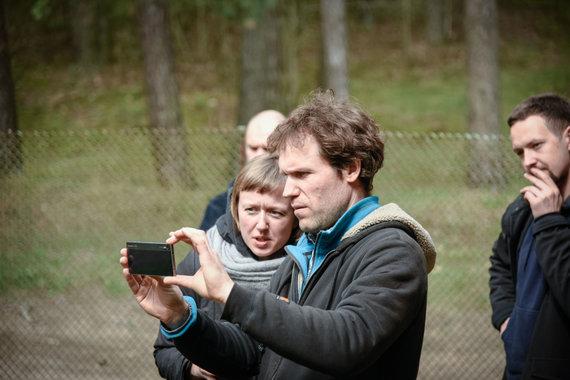 """""""Just a moment"""" archyvo nuotr./Giedrė Beinoriūtė ir Audrius Kemežys"""