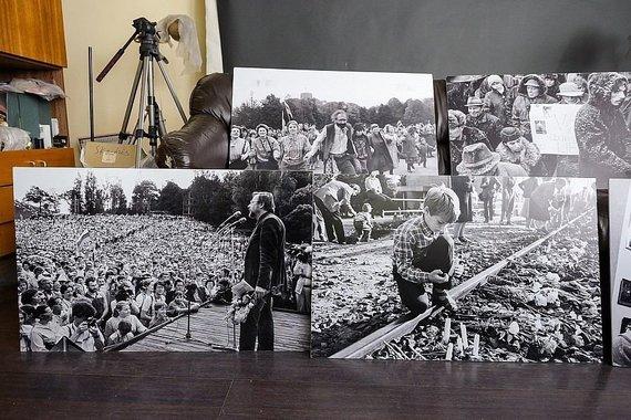 E. Genio/LRT nuotr./Sąjūdį įamžinęs fotografas V.Daraškevičius