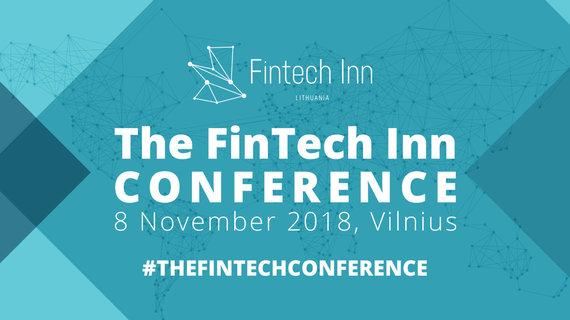 """Organizatorių nuotr./""""The Fintech Inn"""" konferencija"""