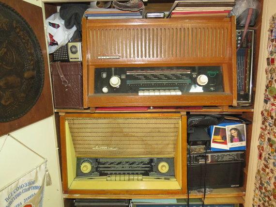 Andriaus Grygelaičio nuotr./Radijo aparatų ir sendaikčių kolekcija