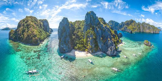 Shutterstock nuotr./El Nido pakrantė, Filipinai