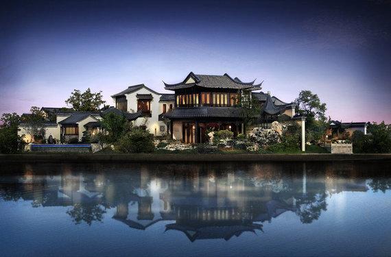 """""""Sotheby's International Realty"""" nuotr./Kinijoje parduodamas itin prabangus namas"""