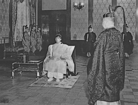 """""""Reuters""""/""""Scanpix"""" nuotr./Japonijos princas Akihito 1952 m."""