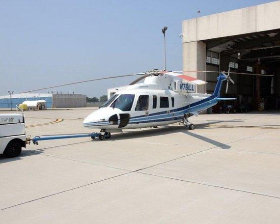 """Ilinojaus valstijos aukciono nuotr./""""Sikorsky S-76B"""""""