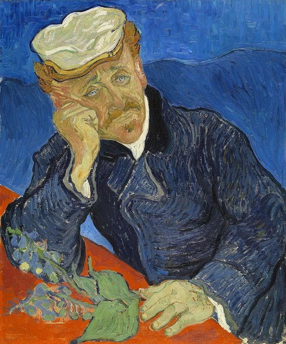"wikipedia.org nuotr./Vincentas van Goghas 1890 m. ""Daktaro Polo Gošė portretas"" (Dr. Paul Gachet) – 152 mln. dolerių"