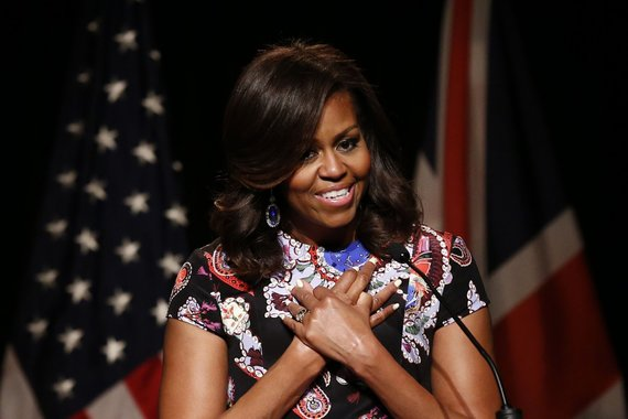 "AFP/""Scanpix"" nuotr./Michelle Obama"