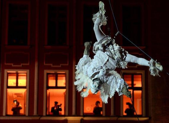 """AFP/""""Scanpix"""" nuotr./Vroclavo – Europos kultūros sostinės – iškilmingas atidarymas"""