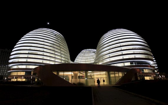 """Reuters""/""Scanpix"" nuotr./Architektės Zaha Hadid darbai"