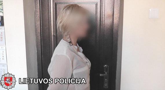Klaipėdos apskrities VPK nuotr./Sulaikyta prostitutė