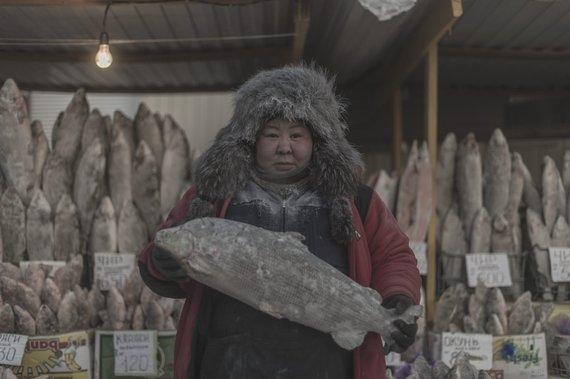 """""""Scanpix"""" nuotr./Oimiakono kaimas Rusijoje – vieta, kur vidutinė žiemos temperatūra siekia -40 laipsnių"""