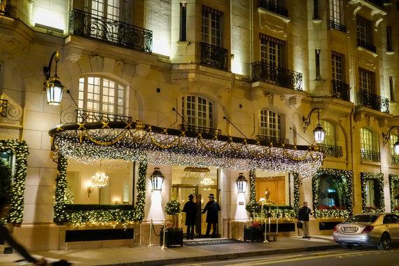 """Vida Press nuotr./""""Le Bristol Paris"""" viešbutis Paryžiuje"""