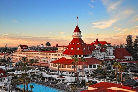"""""""Hotel del Coronado"""" nuotr./""""Hotel del Coronado"""" viešbutis Kalifornijoje"""