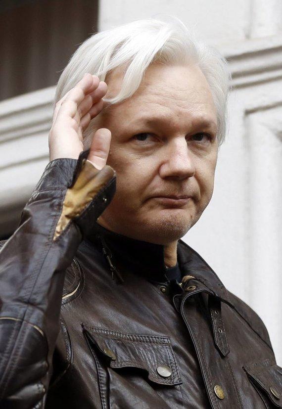 """Scanpix""/AP nuotr./Julianas Assange'as"