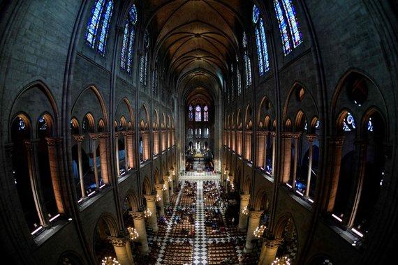 """AFP/""""Scanpix"""" nuotr./Paryžiaus Dievo Motinos katedra"""