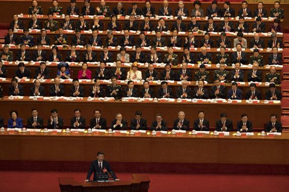 """""""Scanpix""""/AP nuotr./Kinijos komunistų partijos suvažiavimas"""
